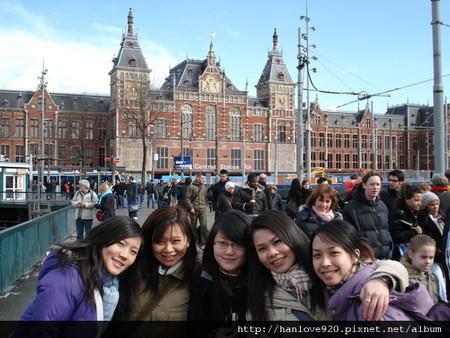 yaya..阿姆斯特丹是晴天